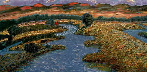 Artist: Pat Tolle, Title: Headwaters - click for larger image