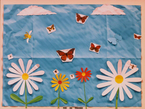 Artist: Bill Braun, Title: Bees and Butterflies - click for larger image