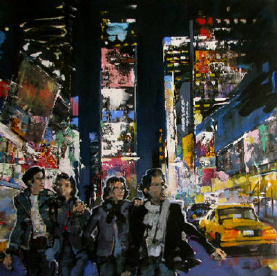 Artist: Andre Schirmer, Title: Broadway - click for larger image