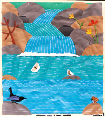 Artist: Bill Braun, Title: Water Ouzel - click for larger image