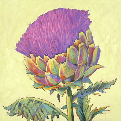 Artist: Debbie Tomassi, Title: Artichoke - click for larger image