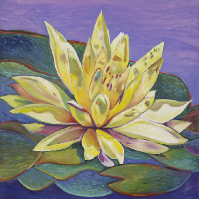 Artist: Debbie Tomassi, Title: Water Lily - click for larger image