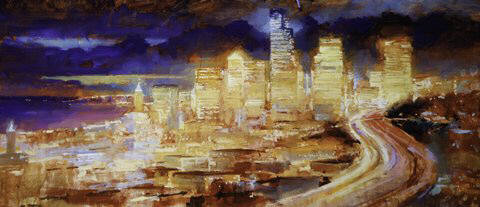 Artist: Dimitriy Gritsenko, Title: Seattle No. 2 - click for larger image