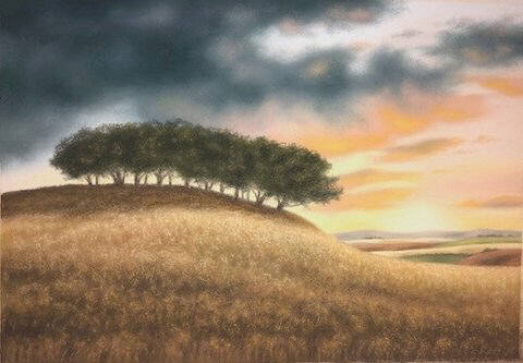 Artist: Doug Martindale, Title: Solitary Grove - click for larger image