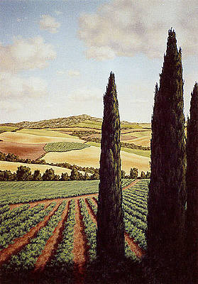 Artist: Doug Martindale, Title: Tuscan Valley - click for larger image