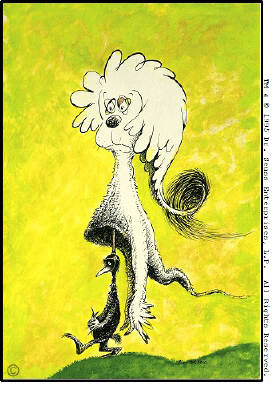 Artist: Dr. Seuss  , Title: Fooling Nobody - click for larger image