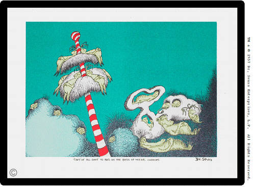 Artist: Dr. Seuss  , Title: The Sleep Book - click for larger image