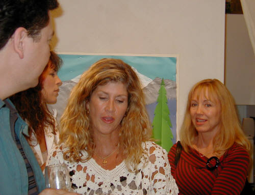 Artist: Gallery Event Photos, Title: 3 Cougars and a Californian - click for larger image