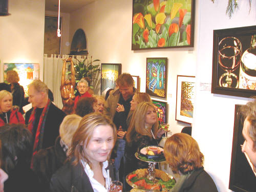 Artist: Gallery Event Photos, Title: A Nice Crowd for our 20th - click for larger image