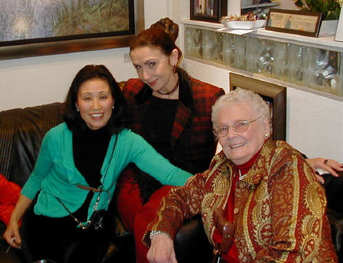 Artist: Gallery Event Photos, Title: Kamikaze Masami, Ms Tango and Mom - click for larger image