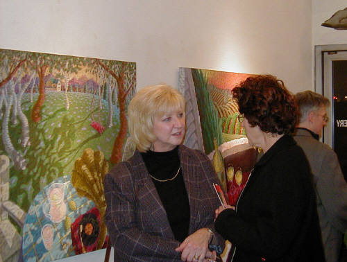 Artist: Gallery Event Photos, Title: November Caplis Opening - click for larger image