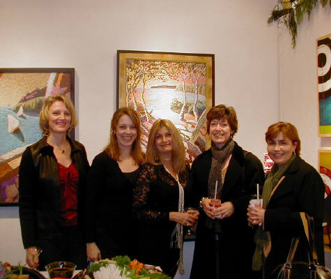 Artist: Gallery Event Photos, Title: Our Kirkland Girls Enjoying our 20th - click for larger image
