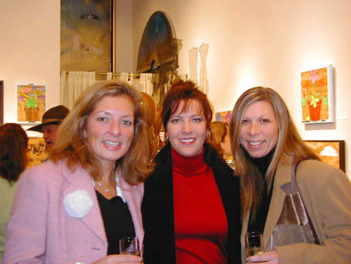 Artist: Gallery Event Photos, Title: Pretty girls continue to attend openings... - click for larger image