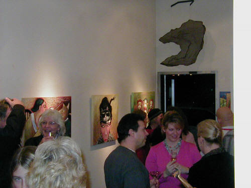 Artist: Gallery Event Photos, Title: Tomassi Show Feb. 2005 - click for larger image