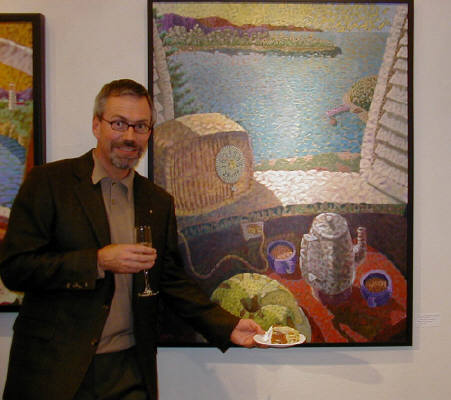 Artist: Gallery Event Photos, Title: Who would serve Bunt cake at a gallery opening? - click for larger image