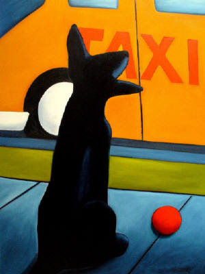 Artist: Jaime Ellsworth, Title: Taxi Cab - click for larger image