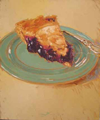 Artist: Kim Starr, Title: Blackberry Pie - click for larger image