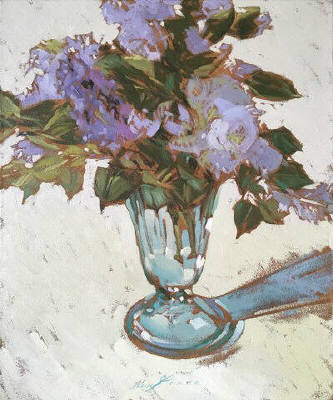 Artist: Kim Starr, Title: Lilacs - click for larger image