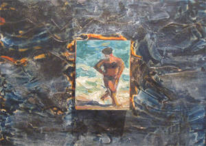 Artist: Pat Tolle, Title: Bather II - click for larger image