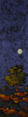 Artist: R. John (Bob) Ichter, Title: The Moon is a Harsh Mistress - click for larger image
