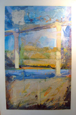 Artist: Robert  Minuzzo, Title: Untitled Overpass - click for larger image