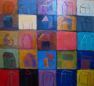 Artist: Selene Santucci, Title: Houses - click for larger image
