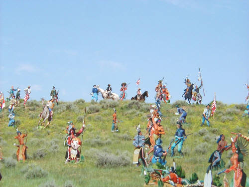 Artist: Gallery Event Photos, Title: June 25, 2005 The Little Bighorn - click for larger image