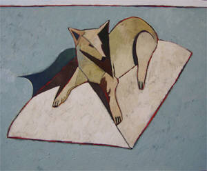 Artist: Thom Ross, Title: The General's Dog - click for larger image