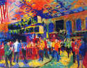 LeRoy Neiman - American Stock Exchange 2001