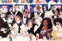 LeRoy Neiman - Celebrity Night at Spago 1993