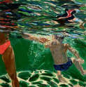 Pat Tolle - Green Swimmers