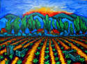 Rich Klopfer - Sunset over Fields
